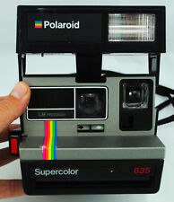 Appareil photo instantané : POLAROID SUPERCOLOR 635 (Testé : Fonctionne !)