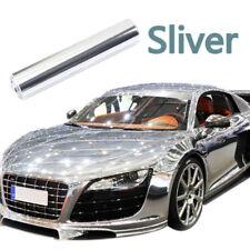 """8x60"""" Specchio Cromata Vinile Wrap Pellicola Adesivo Decalcomania Per Auto Universale Auto Camion"""