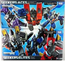 Takara Tomy Transformers Seekers Aces and Elites Set of 6 Decepticons MISB