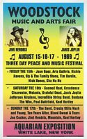 Woodstock Music and Arts Fair 1969 A4 Photo Reprint
