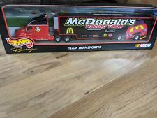 Mattel Hot Wheels Racing McDonald's NASCAR Team Transporter