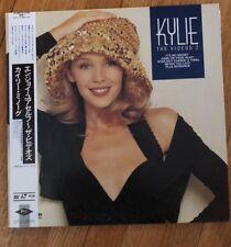 Kylie Minogue The Videos 2 JAPAN Laserdsic LD PWL ALLE-1 Laser Disc Rare