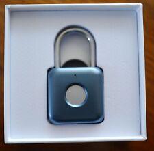 UODI SMART PADLOCK. Fingerprint digital lock.