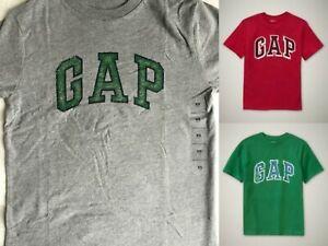 NWT GAP Arch Logo Graphic Tee T-Shirt Tees Shirt 100% Cotton NEW Boys M 8 XL 12