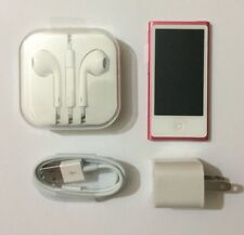 Apple iPod Nano Pink 7th Generation 16GB with Accesories 90 Days Warranty