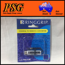 Coaxial to Ribbon convertor - Indoor Tv balun 75 to 300 ohm         Free Postage