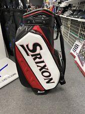 New Srixon Tour Staff Bag White Red/Black