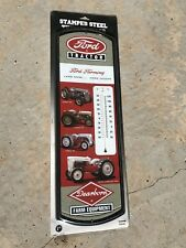 New listing Case Ih Ford tractor Stamped Steel Thermometer Nib