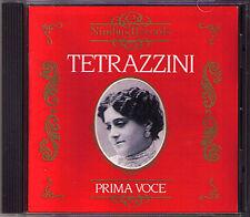 Luisa Tetrazzini 1871-1940 Nimbus OTTIMO voce ni 7808 CD Il Trovatore la traviata