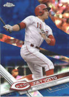 JOEY VOTTO 2017 TOPPS CHROME SAPPHIRE EDITION #288 ONLY 250 MADE