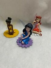 Disney Tinkerbell And Fairies Friend Figures Cake Toppers Lot