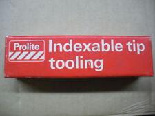 Prolite 2825 indexable toolholder NIB
