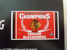 Nhl Chicago Blackhawks Stanley Cup Champions 3' x 5' Polyester Flag