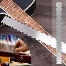 Guitar Neck Notched Straight Luthier Fretboard Edge Fret Ruler Measuring Tool AU