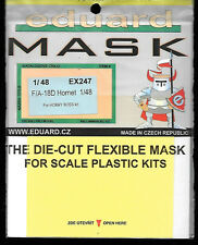 Eduard F/A-18D Hornet Painting Mask for Hobby Boss 1/48 Scale Kit EUEX247