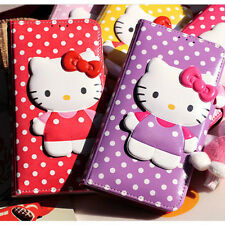 Genuine Hello Kitty Body Lock Diary Case Galaxy Note 9 Case 5 Colors Korea made