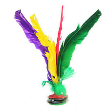 Chinese Jianzi Colorful Feather Kicking Shuttlecock Foot Exercise Outdoor Toys