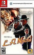 L.A. Noire (Nintendo Switch, US Version) - New/Sealed