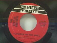 """STATLER BROTHERS """"FLOWERS ON THE WALL / RUTHLESS"""" 45 OLDIE"""