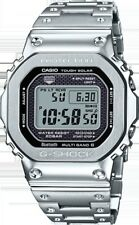 Casio G-Shock Full Metal Steel Limied Edition Silver Japan Watch New GMWB5000D-1