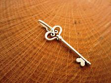 YOLLA Pure Sterling Silver Key Pendant