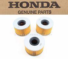 3 Genuine Honda KEA Quality Oil Filter Cartridge TRX SXS MUV (See Notes) #O174
