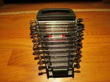 USA Craftsman Combination Wrench 12 Pt Metric  7-18mm  12 pc SET
