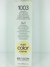 REVLON PROFESSIONAL NUTRI COLOR CREME PALE GOLD 100ML TUBE (1003)