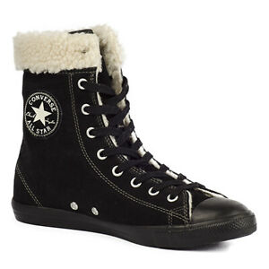 Converse Schuhe Sneaker Chucks CT All Star XHi Slim 540307C Winter Schwarz Sale