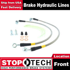 Stoptech Front Stainless Steel Braided Brake Lines For 2004 Ford F-150 6 Lug