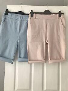 Magic Style Shorts 1 X Baby Pink & I X Baby Blue Size 10-16 Hardly Worn