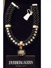Dyrberg/Kern Damen-Halskette mit Anhänger Amerah sg black Messing
