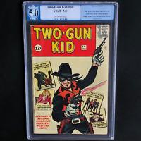 TWO-GUN KID #60 (Marvel 1962) 💥 5.0 OW PGX 💥 1ST APP OF NEW TWO-GUN KID!