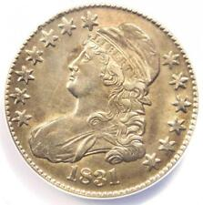 1831 Capped Bust Half Dollar 50C O-109 - ANACS AU55 Details - Rare Coin!