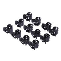 30pcs Black Mini Small Hair Claw Clamps Hair Clips Hair Grips size 1cm