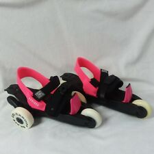 Cardiff Skate Co. Cruiser 3-Wheel Adjustable Youth Skates Hot Pink