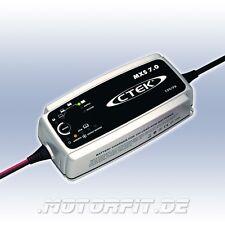 CTEK MXS 7/XS7000 - 12V/7,0A Ladegerät - MXS7 + Tasche und Zusatzanschlusskabel