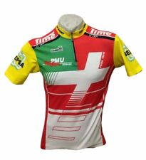 MAGLIA CICLISMO CIEGI SWISS TEAM ITALIAN CYCLING SHIRT JERSEY TRIKOT VINTAGE