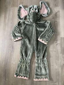 KIDS ELEPHANT COSTUME HALLOWEEN SIZES FITS SIZES 2-4