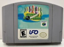 Super Bowling for Nintendo 64 Authentic NTSC Cartridge Only N64 By UFO