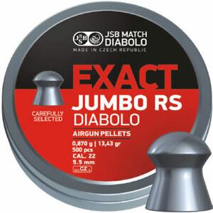 JSB Match Diabolo - Exact Jumbo RS .22 - 5.52 - Airgun Pellets