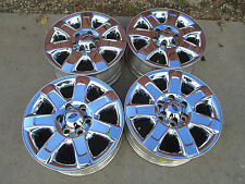 "18"" FORD F150  EXPEDITION CHROME CLAD FACTORY WHEELS RIMS 2015"
