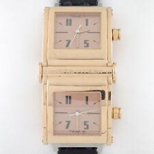 Jorg Hysek 18k Yellow Gold Limited Edition of 200 Dual Time Quartz Watch