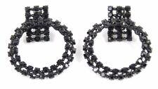 Alexis Mabille Women`s Black Mischief Clips Earrings Luxury BCF511