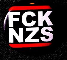 F'CK NAZIS BUTTON 2016-17 EAST CCOAST PROTESTS  PINBACK SCARCE