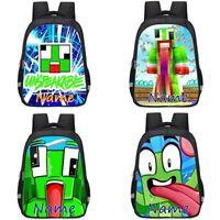 Unspeakable Personalised School Bag Backpack Girls Rucksack Reflective Bday Gift