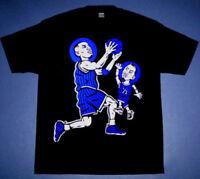 New Anfernee Lil Penny hardaway shirt blue foamposite  royal Memphis Cajmear 2XL