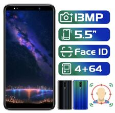 Note 8 Pro 5.5 Inch 18:9 Screen Face ID Mobile Phone 4G RAM 64 Rom MTK Android