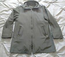 Men's Fendi Maglia Fleece Lined Jacket Dark Green Large