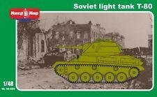 Mikro-Mir - 48-009 - Soviet light tank T-80 - 1:48
